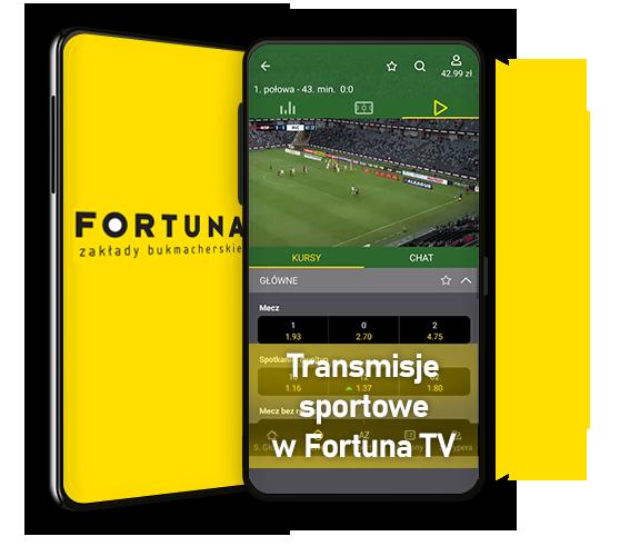 Fortuna TV – transmisje meczów na żywo online