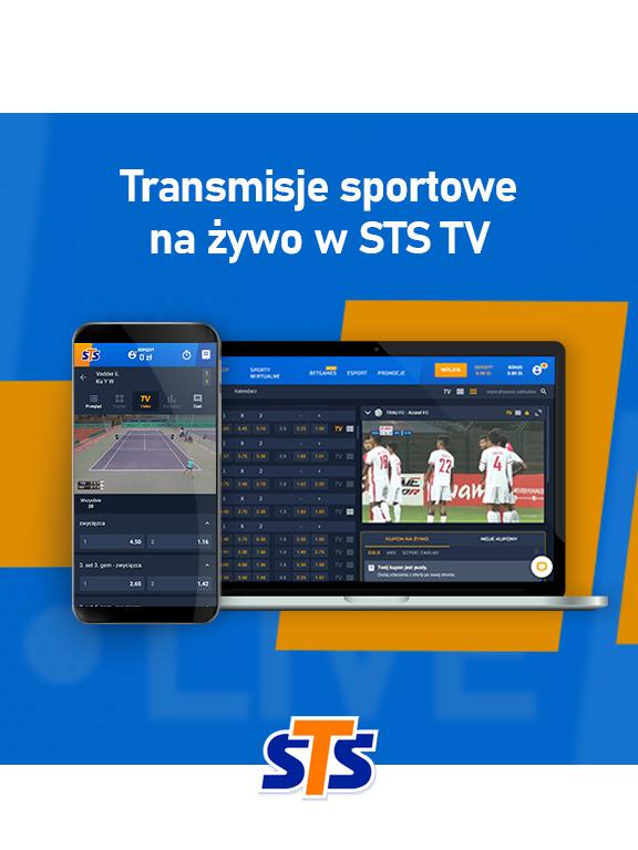 Jak oglądać mecze w STS TV? Darmowe transmisje sportowe na żywo