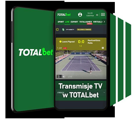 Transmisje meczów w TOTALbet TV