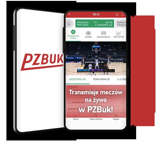 PZBuk transmisje wydarzeń sportowych online