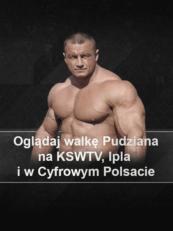 Gdzie oglądać walkę Pudzianowskiego na KSW 59?